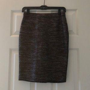 Ann Taylor tweed skirt